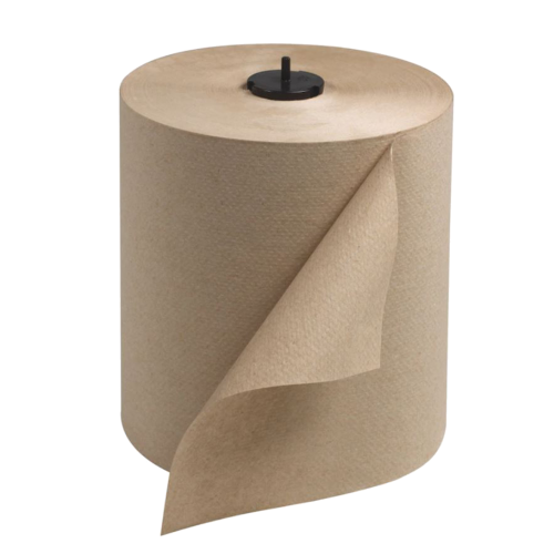 Tork 290088 Brown Paper Towel Roll, 6 rolls in 1 case