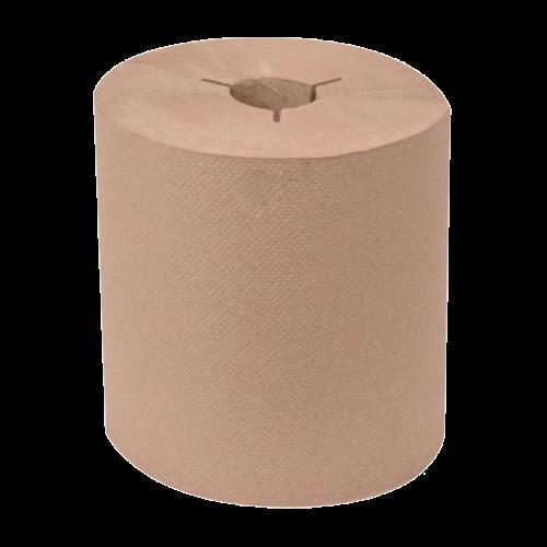 Tork 8031300 Brown Paper Towel Roll, 6 rolls in 1 case