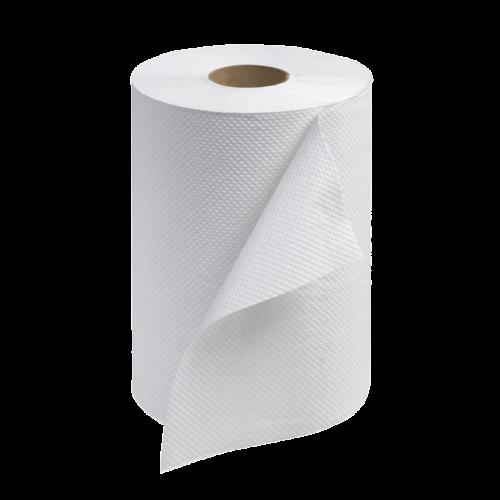Tork RB351 White Paper Towel Roll, 12 rolls in 1 case