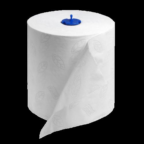 Tork 290019 White Paper Towel Roll, 6 rolls in 1 case